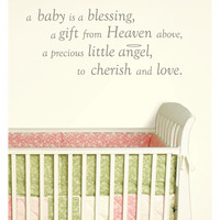 WallPOPs A Baby is a Blessing Wall Wishes Wall Art Kit