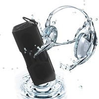 Bluetooth Speakers, ELEGIANT Waterproof Sport Speaker Portable Wireless Speaker with 3600mAh Rechargeable Power Bank/ Mic / NFC Function and Metal Hook Loop Idea for Calls for iPhone 6/ 6Plus, iPad Air, Samsung Galaxy S6, S6 Edge, LG G3, Nexus 5/4 and most