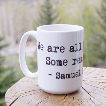 Samuel Beckett Quote Mug Post Modern