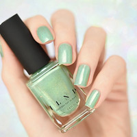 ILNP Princeton - Refined Mint Green Holographic Nail Polish