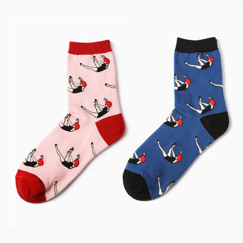 Free Falling Sock Set (Set of 2)
