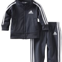 adidas Baby-Boys Infant Core Tricot Set