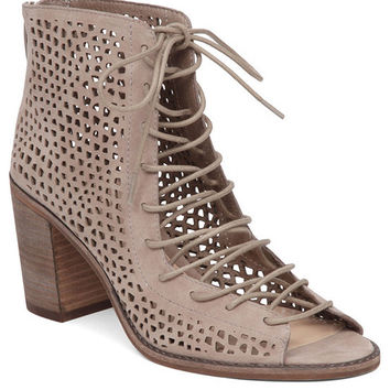 Vince Camuto Tulina Lace-Up Booties | Dillards