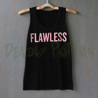 Flawless Shirt Top Tank Top Tee Tunic Singlet Women - Size S M L