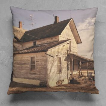 Farmhouse Square Pillow