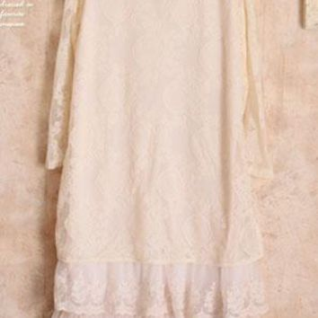 abbigliamento donna lace feestjurken vestido longo lolita hippie boho fringe fall cotton maxi uzun elbise autumn winter dress