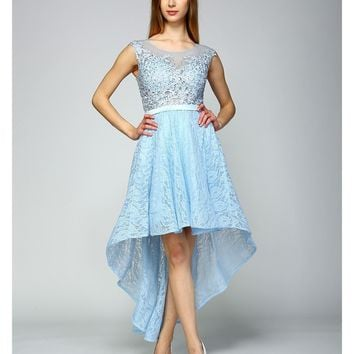 Grandeur Grace High-Low Dress