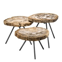 Wood Coffee Table Set | Eichholtz De Soto