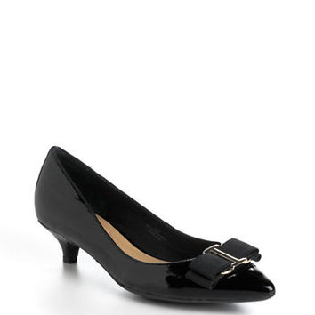Isaac Mizrahi New York Gina Patent Leather Pumps