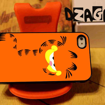 Garfield Cat case cell phone for iPhone 4/4S, iPhone 5/5S/5C and Samsung Galaxy S3/S4/S5