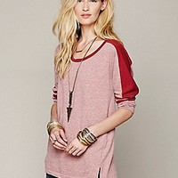 Free People  Colorblock Pullover at Free People Clothing Boutique