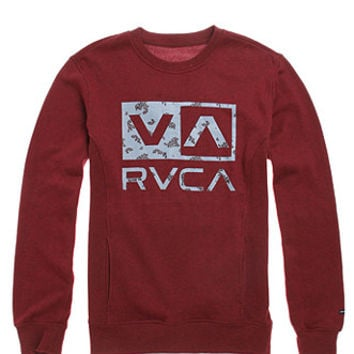RVCA VA Paisley Box Crew Fleece at PacSun.com