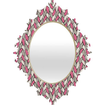 Bianca Green Braids Love Baroque Mirror