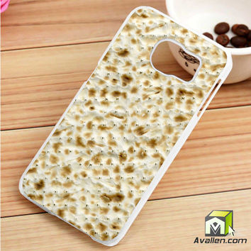 Passover Matzo  Matzah Samsung Galaxy S6 Edge case by Avallen