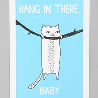 Gemma Correll For Society6 Hang In There Art Print