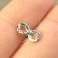 Infinity Cartilage Earring Tragus Piercing