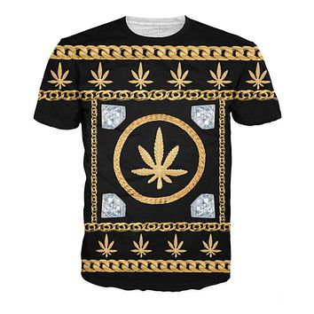 Gold Chains and Diamonds T-Shirt