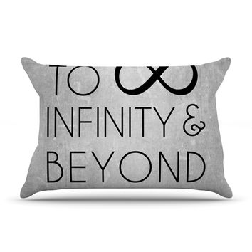 "KESS Original ""To Infinity & Beyond"" Pillow Case"