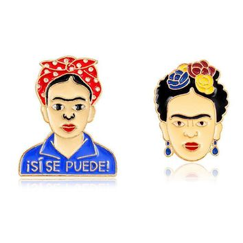 Deadpool Dead pool Taco Frida Kahlo Glama Unicorn Planet Game Over  Keyboard Pins Badges Brooches For Men Women Pins Collection AT_70_6