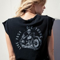 ELIN LIVE FAST DIE YOUNG TOP