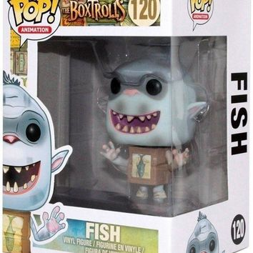 The BoxTrolls Fish Funko Pop! Vinyl Figure #120
