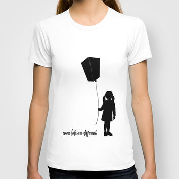 Some kids are different - Girl T-shirt by HappyMelvin