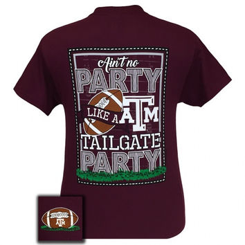Texas A&M Aggies Party Tailgate Preppy Football T-Shirt