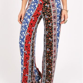 Moonlight Mile Printed Flares