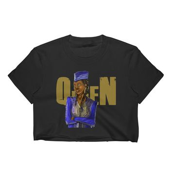 African Gunner Women's Crop Top