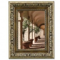 Lawrence Frames Ornate Picture Frame in Burnished Silver and Bronze - 179446 / 179457 / 179480 - Decor