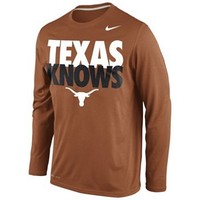 Nike Texas Longhorns Knows Dri-FIT Tee - Men