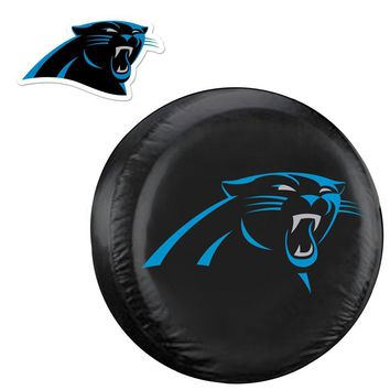 Carolina Panthers NFL Spare Tire Cover and Grille Logo Set (Large)