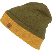 Volcom Stoned & Wool Beanie Olive, One Size