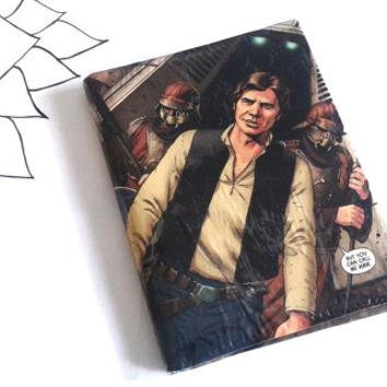 Ready To Ship - Star Wars Han Solo & Chewbacca Hipster Bi-Fold Wallet