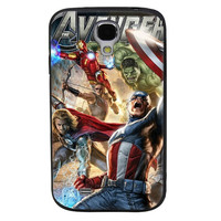 The Avengers TPU Soft Shell Jelly Silicone Case for Samsung Galaxy S4