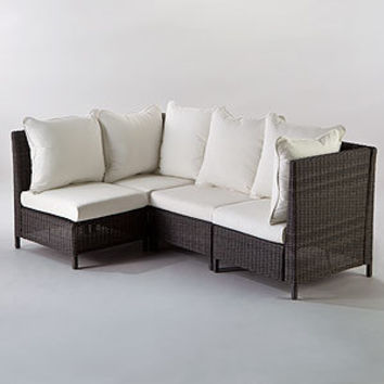 Solano All-Weather Wicker Sectional | Outdoor and Patio Furniture| Furniture | World Market