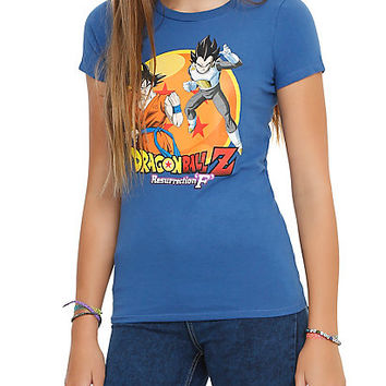 Dragon Ball Z: Resurrection 'F' Goku Vs. Vegeta Girls T-Shirt