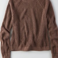 AEO Women's Don't Ask Why Cropped Sweater