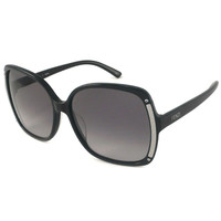 Fendi FS5098-001 Women's Black Plastic Frame Polycarbonate Gray Gradient Lenses Sunglasses