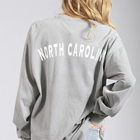 charlie southern: state spirit long sleeve - North Carolina [grey]
