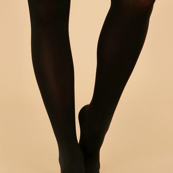 Women's Opaque Tights Black