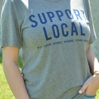 Support Local Tee