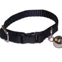 Marshall Pet Ferret Bell Collar Black X