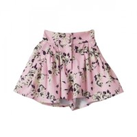 rose peplum shortpants