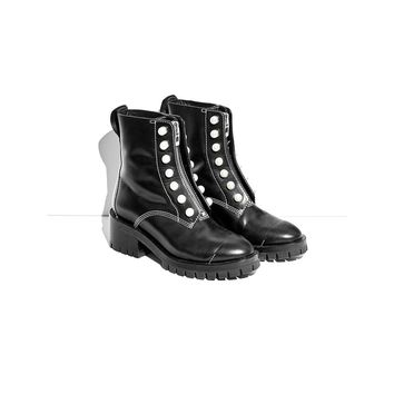 3.1 Phillip Lim Black Hayett Pearl Boot - Black Hayett Pearl Boot