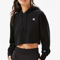 Reverse Weave Raw Edge Hoodie | PacSun