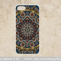 Mandala iphone Cover, iphone 5 Case, iphone 5g case , for iPhone 5 5g 5th Case,iphone 5g cover rubber iphone 5 cover