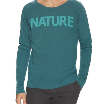Free City Men's Nature Superbeats Sweatshirt - Green -