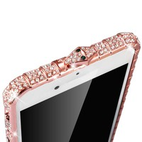 Luxury Bling Rhinestone Diamond Bumper For iPhone