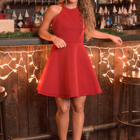 Reason To Believe Dress, Red